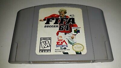 Fifa Soccer 64 Game for Nintendo 64 Tested Authentic N64 Personal Collection for sale  San Bernardino