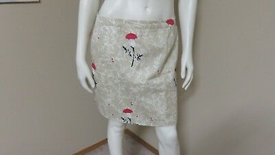 EUC BURBERRY GOLF SKIRT FULL LINING LADIES WOMEN'S TAUPE PRINT SIZE 8 for sale  Red Deer