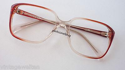 Brille Opabrille eckige Glasform Vintagefassung Gestell occhiali NEU size M