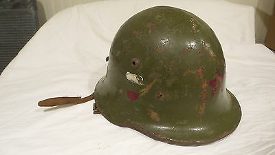 WWII Bulgarian MILITARY HELMET M36, Type A