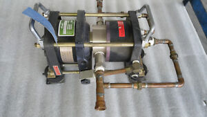 HASKEL AGD-1.5 Double-Acting, Single Stage Gas Booster