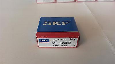 6203-2rshc3 Skf Ball Bearing 17x40x12 Mm