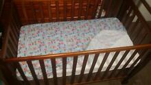 Baby Cot, Mattress and Mattress Cover - Never Used - Going Cheap Tarneit Wyndham Area Preview