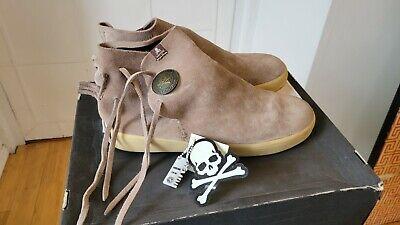mastermind Japan × VISVIM GILA MOC Concho Button Suede Leather Boots Shoes US11