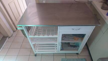 Portable kitchen counter ( stainless steel )