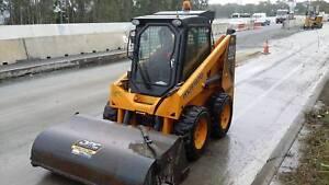 Excavator Bobcat Truck Combo