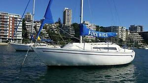 Beautiful Triton yacht in excellent condition - timber interior Double Bay Eastern Suburbs Preview