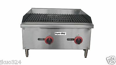 New Radiant Char Broiler Gas Grill 24