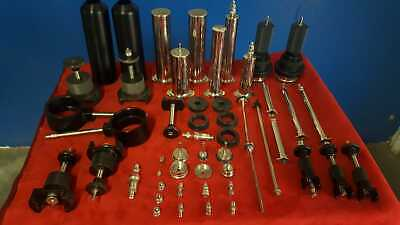 Lot Of Biotage Flash Chromatography Parts Barrels Fittings - Approx. 51 Parts