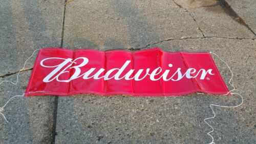budweiser banner and detroit lions pennants..free shipping