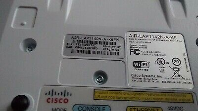 Cisco Aironet AIR-LAP1142N-A-K9 Dual Band PoE Wireless Access Point w/ Bracket segunda mano  Embacar hacia Argentina