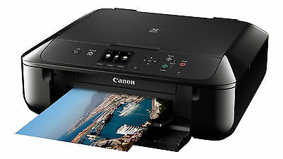 01 CANON Pixma MG5750 All in One WIRELESS PRINTER SCANNER COPIER