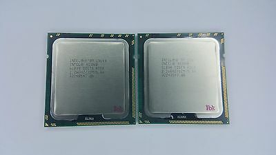 Matched pair of Intel Xeon L5640 2.26GHz Six Core SLBV8 Processor w/Grease
