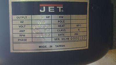 230460v 5hp 3ph Motor For Powermatic 209 Or Jet Jwp208-3 20 Planers