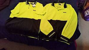 2 New Fluro Work shirts - long and short sleeve Size M Maryland Newcastle Area Preview