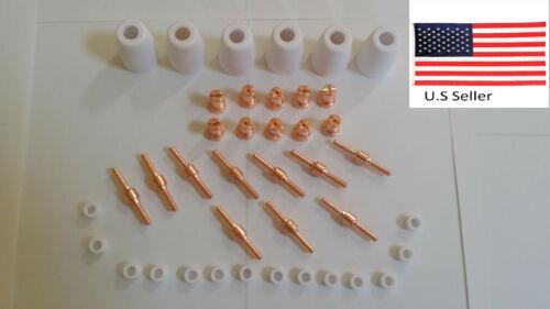 Lotos LT3500 35Amp Plasma Cutter Consumables 40pcs Copper Extended Lotos USA