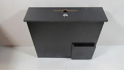 Fixturedisplays 15w X 13h X 3.7dsuggestion Box 102706 Blk-fba
