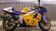 1999 Suzuki GSXR600 Corona Alstare Chigwell Glenorchy Area Preview