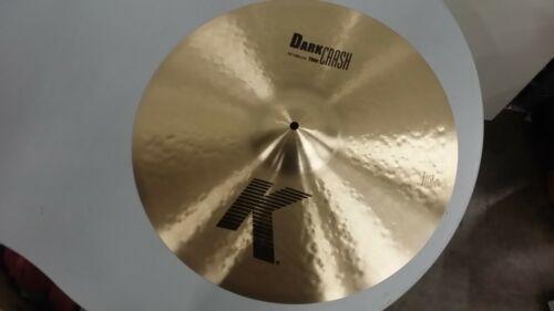 "Zildjian 19"" K Dark Thin Crash ** Mint Condition ** K0905"