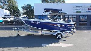 2014 STACER 469 OUTLAW SIDE CONSOLE + YAMAHA 70HP 4 STROKE VGC!!! Boondall Brisbane North East Preview