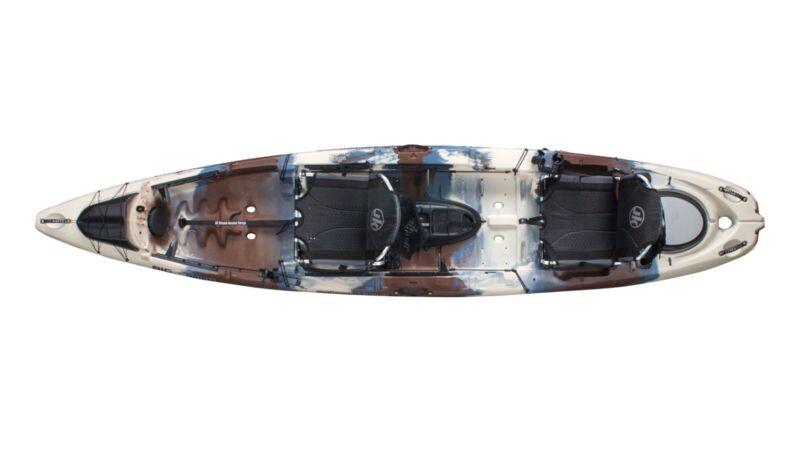 Jackson Kayak Big Tuna Tandem Fishing Kayak - Bought New, Never Used. Camo