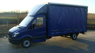 2014 MERCEDES MERC SPRINTER 2.1TD 313 LWB CURTAIN SIDER 130 BHP BLUE NEW SHAPE