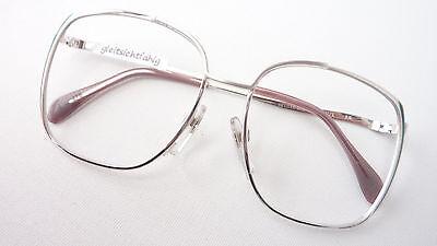 Brille Hochwertiges Markengestell Damen Silhouette 6155 Gold Rot Grösse L 55 Augenoptik 17 Brillenfassungen