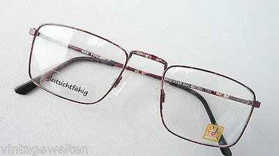 See You Markenbrille mit dünnem Rahmen braun gefleckt für kleine Gesichter Gr. S