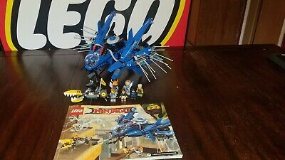 LEGO - The Lego Ninjago Movie Lightning Jet (70614) - Incomplete - Read