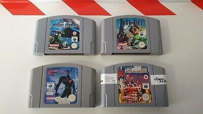Nintendo N64 War Gods & Dark Rift & Batman Of The Future & Mace Dark Ark
