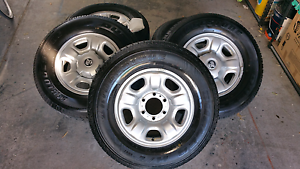 "5x Holden Colorado 16"" Rims & Tyres Chelsea Kingston Area Preview"