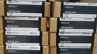 Nellcor Ds100a Oximax Adult Finger Clip Spo2 Sensor
