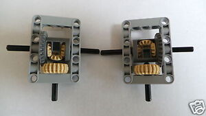 Lego Technic Kit Differential Gears, Axles and Surround x 2 * NEW * Type B