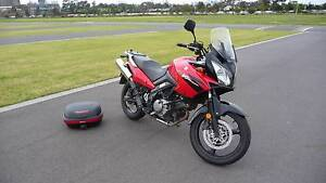 2005 V-strom DL650 Moonee Ponds Moonee Valley Preview