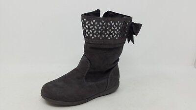 NEW! Girls Cherokee Judy Suede Boots- Gray 126N - Judy Schuhe