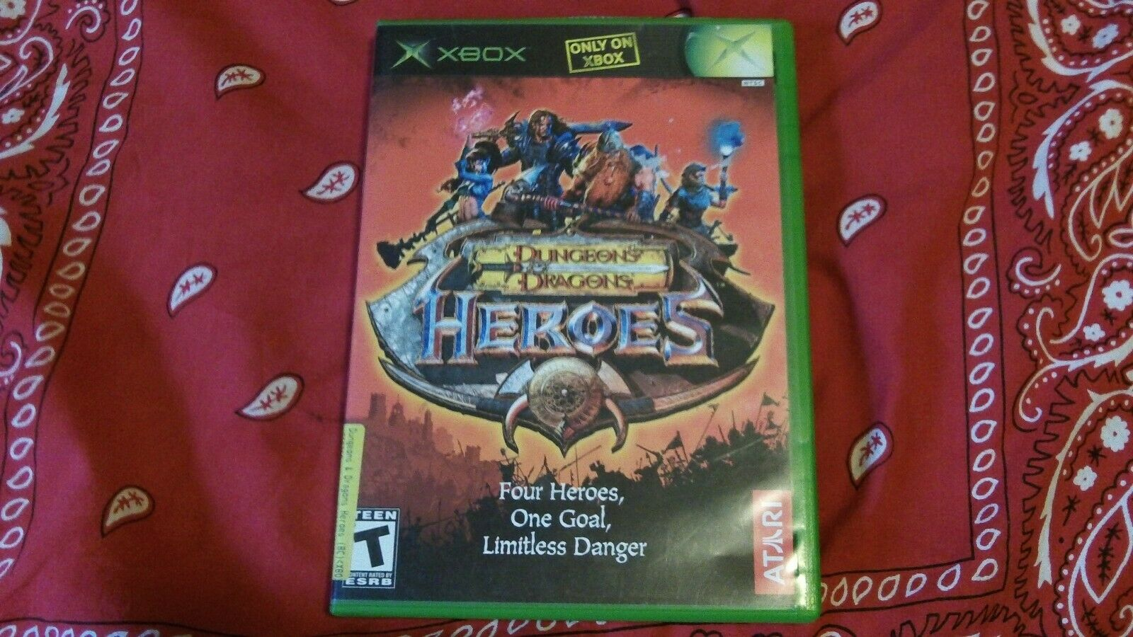 Dungeons Dragons Heroes, D D Heroes Xbox - $11.50