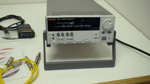 Keithley 2635 Sourcemeter: System Sourcemeter (1fa, 10a Pulse). W/ Accessories