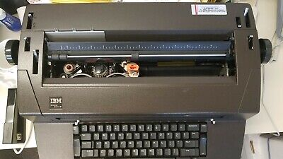 Ibm Selectric Iii Typewriter Wself Correction Key Dust Cover