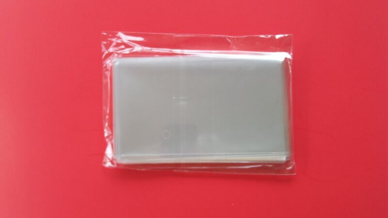 """200  3X5 SUPER CRYSTAL CLEAR FLAT CELLO BAGS SLEEVES 3""""x5"""""""