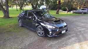 Subaru WRX premium black 2015 My16 Keilor Park Brimbank Area Preview