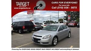 2011 Chevrolet Malibu LS 4Cyl Great on Gas, REDUCED PRICE!!!