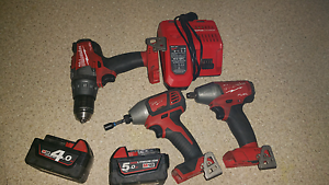 For sale milwaukee drill/ rattle gun & impact driver Secret Harbour Rockingham Area Preview