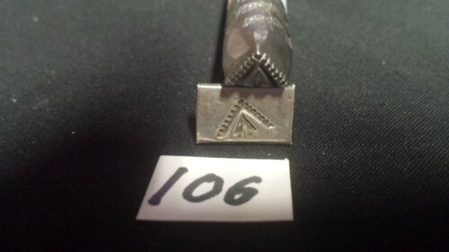 Traditional Navajo Stamp Silversmith stamp