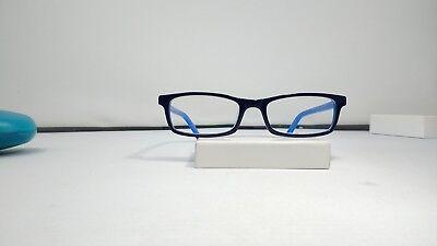 Zenni Optical  439516 Black Blue 47 18 126  With Case  77