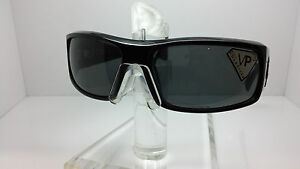 VON ZIPPER SUNGLASSES KICKSTAND PBV GLOSSY BLACK/GRAY POLARIZED