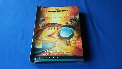 3D Ultra Pinball Creep night - PC CD IBM - Español -...