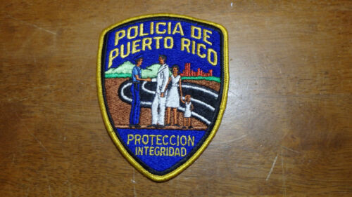 POLICIA DE PUERTO RICO STATE POLICE HIGHWAY PATROL PATCH BX 2 #17