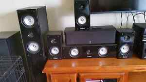 Pioneer Amp Reciever with Oskar speakers Ferndale Canning Area Preview