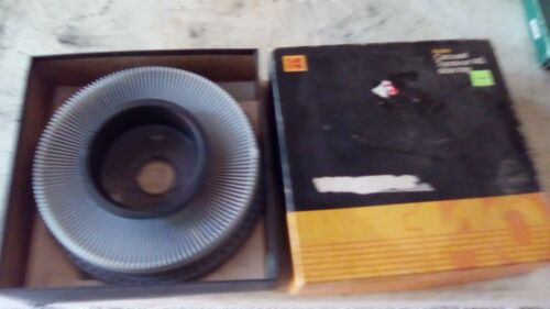 kodak carousel 140 slide trays lot of 2