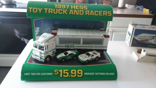 1997 Hess counter display  a rear hard find
